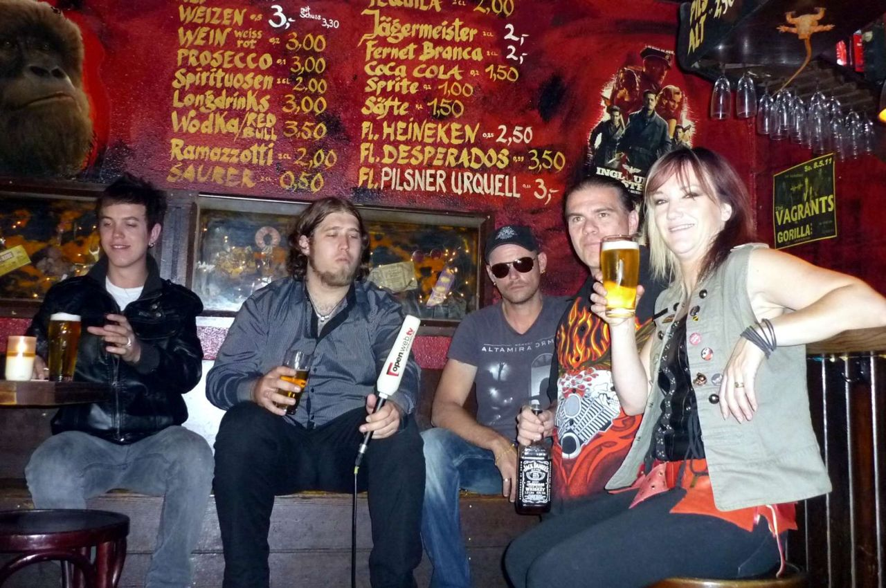 Vagrants at Gorilla Bar005